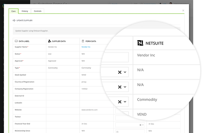 NetSuite Column View