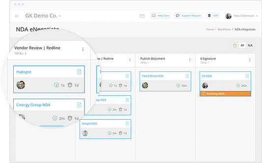 Automated Contract Workflows